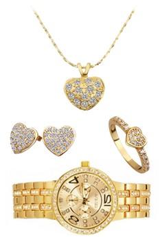 Queen Sherie Set (Gold)