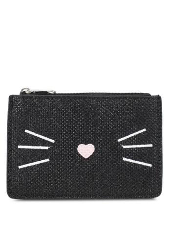 Dorothy Perkins black Black Cat Shimmer Purse DO816AC0SJ6KMY_1