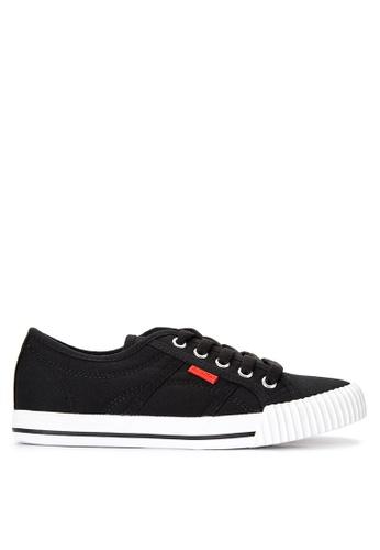 Appetite Shoes black Basic Lace up Sneakers AP667SH0IZHVPH_1