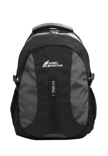 CAMEL MOUNTAIN black and grey CAMEL MOUNTAIN BACKPACK SERIES 1975 7CD49AC00A9D2BGS_1