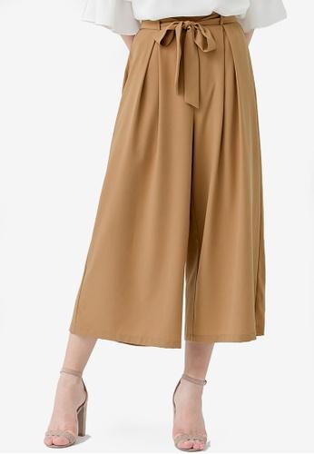 ffc366702 Shop Kodz High Waist Flowy Pants Online on ZALORA Philippines