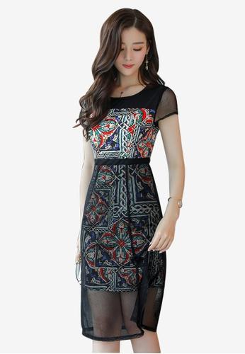 Lara multi New Arrival One piece Dress for Women 0BE07AA795975CGS_1