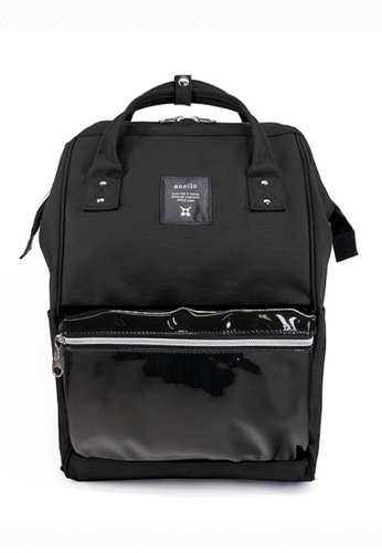 Anello black anello Mini Polyester Clear Pocket Backpack AE17FAC414B311GS_1