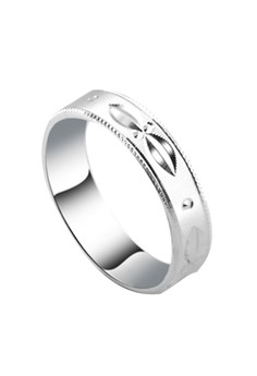 Leaf glide Couple Ring