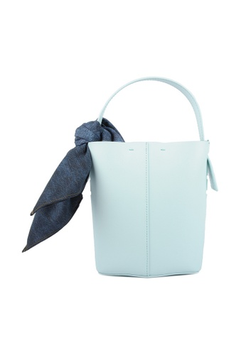 RO Bags green RO Terranova Felucca Mini Top Handle Bucket Bag in Mint Green/Spring Green 1B5CCACFEEE00BGS_1