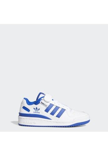 ADIDAS white adidas Originals Forum Low Shoes 11AA5KS3A285A6GS_1