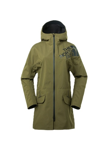 The North Face green The North Face Men Terra Metro Apex Flex Coat Green  Waterproof Jacket 19a130deb