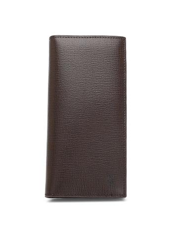 Playboy brown Rfid Blocking Bi-Fold Long Wallet 0D9C6ACD3EA8FAGS_1