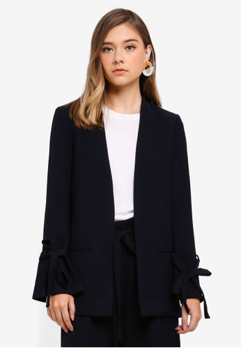 ESPRIT navy Woven Regular Blazer 25D50AA2E73BE8GS_1