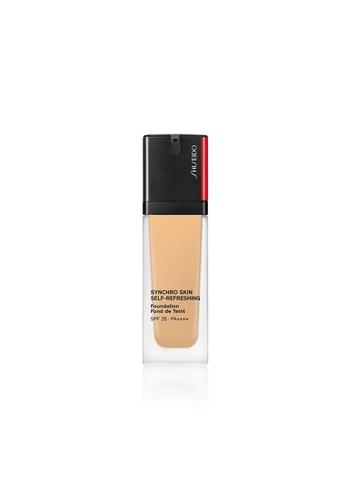 SHISEIDO Shiseido Makeup Synchro Skin Self-Refreshing Foundation - 320 Pine D7C4CBEDE77EF8GS_1
