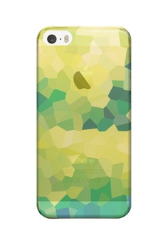Stained Glass Transparent Hard Case for iPhone 5, iPhone 5s
