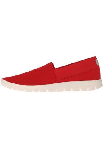 paperplanes red SNRD-706 Women Fashion Ultralight Slip-Ons Driving Shoes PA110SH48OZZHK_1