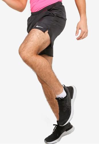 Nike black As Men Running Shorts 114B2AA8C392A9GS_1
