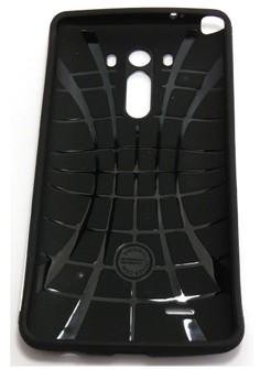 Sleek Shockproof Case for LG G3 (Black)