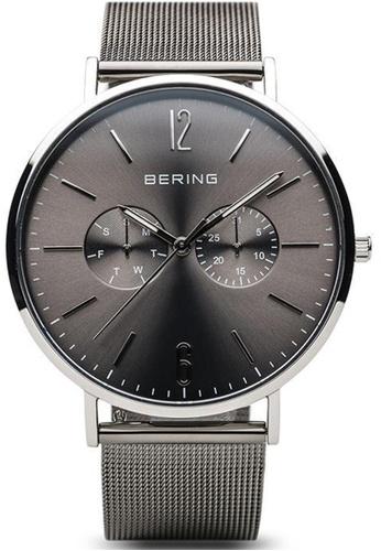Bering silver Bering Classic Grey 40 mm Men's Watch (14240-308) AB342AC9F6A57BGS_1