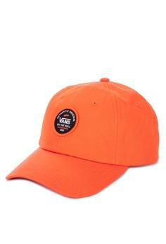 ecf6c60a5e5 VANS orange MN AP SVD Patch Jock Cap 50D48AC5C51014GS 1