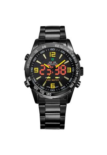 Weide yellow Analog Watch WH1009B-3C WE088AC82KSBPH_1