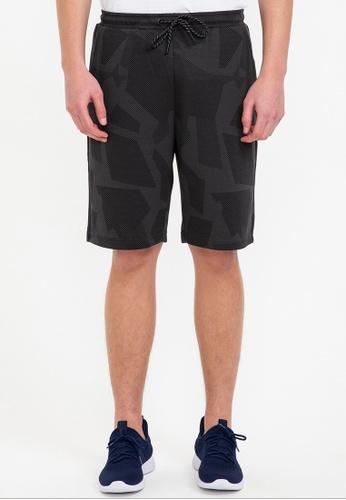Bossini black Air Tech - Solid Slim Fit Shorts 43172AA25C3E1DGS_1