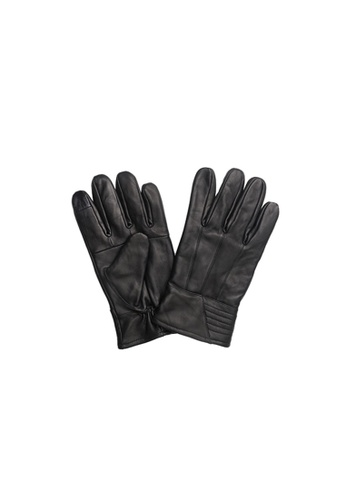 Universal Traveller black Universal Traveller Sheep Skin Leather Gloves - GVL 9002 78F21AC5ECF16FGS_1