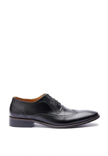 Kings Collection black Elva Leather Shoes 4F2F2SH2C28351GS_1