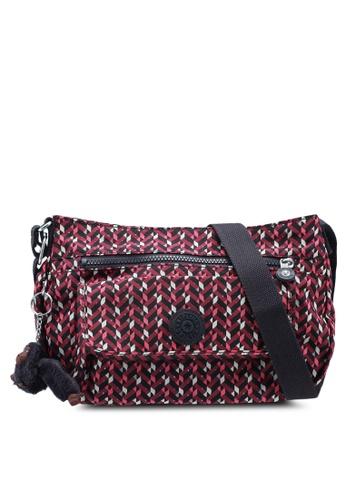 Kipling pink and multi Syro Sling Bag 0BFF9ACA187BB4GS_1