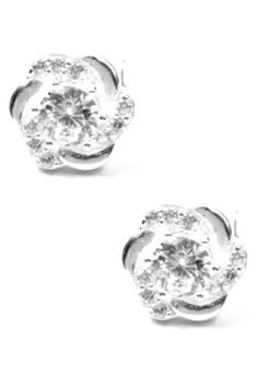 Venice Erudite Earrings - S42 (Silver)