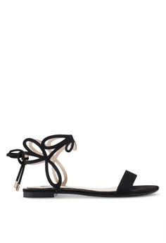 35239b7e416b Miss Selfridge black Estella Black Laser Cut Sandals B4871SH43352F8GS 1