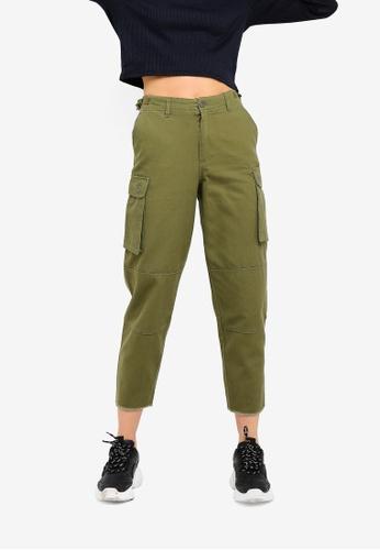 Cotton On green Nika Utility Pants 7DE3CAAD2EBB65GS_1