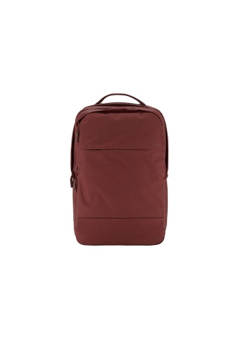 """Incase red Incase Designs Corp City Backpack for 17"""" MacBook Pro (Deep Red)  IN132AC2VVF0HK_1"""