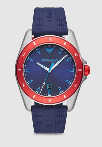 Emporio Armani blue Sigma Watch AR11217 AE825AC3D143FEGS_1