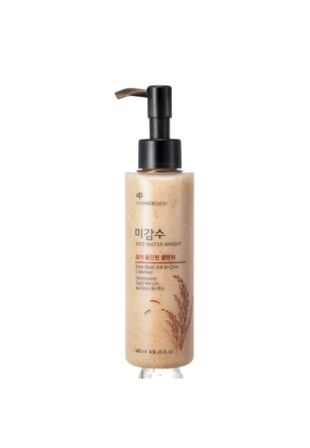 THE FACE SHOP Rice Water Bright Rice Bran All-In-One Cleanser CE1CBBE2913046GS_1