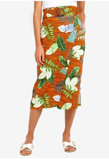 3fde169d70132 Woven Melanie Wrap Midi Skirt 646A4AA686A10DGS 1