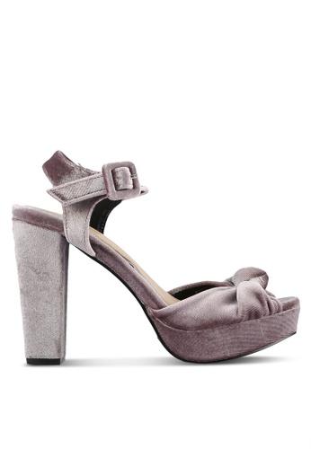 Dorothy Perkins purple Vero Moda 'Dublin' Mink Heels DO816SH0RP51MY_1