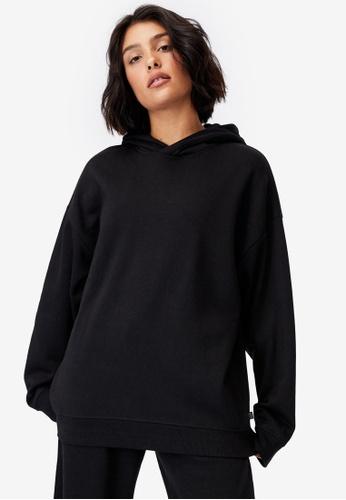 Cotton On Body black Lifestyle Oversized Hoodie F84D1AA002B5E4GS_1