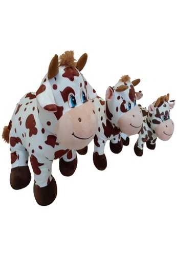 J&J brown Standing Cow, Boneka Sapi Genit Berdiri Ukuran XL 0D1B7TH991C756GS_1