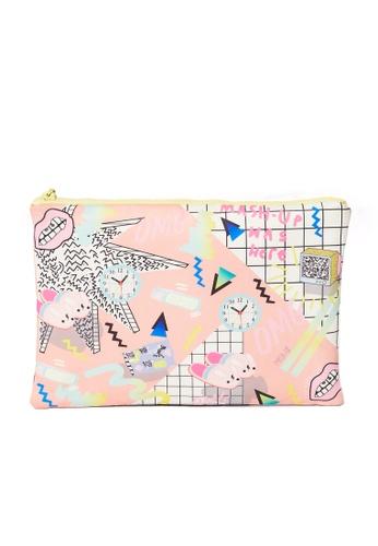 MASH-UP pink PINK BEDROOM CLUTCH 3DD5EAC34AF67EGS_1