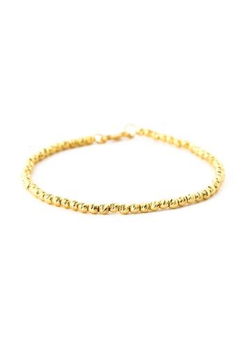 TOMEI gold TOMEI Congeries of Spherical Sensations Bracelet, Yellow Gold 916 (BB832-1C) EE8D6ACEAE7F49GS_1
