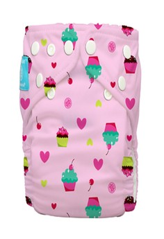 Cupcakes 2-in1 Cloth Baby Diaper