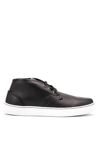 Hawk Footwear black Chase 2 Smart Casual Shoes HA641SH18EOJPH_1