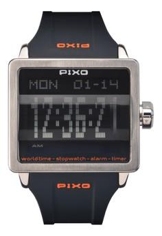 Digital Flip Watch PX-1JSBK-02