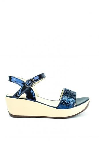 Cardam's Lifestyle blue Lanie Wedge Sandals 01EA2SHE94987BGS_1