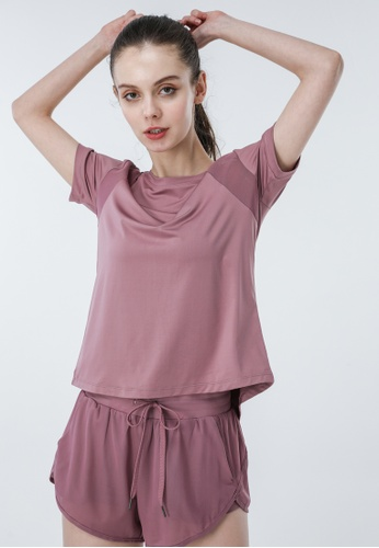 HAPPY FRIDAYS Women's Yoga Short Sleeve Tees DSG518 224D7AA3731180GS_1