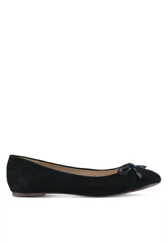 Spiffy black Casual Wear Flats SP352SH0SRXDMY_1