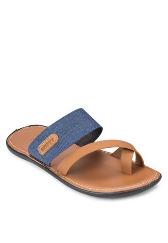 夾趾多帶拖鞋涼鞋, 鞋, esprit香港分店鞋