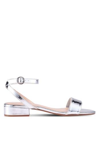 Mango silver Ankle-Cuff Sandals 4BA6ESHC728EE5GS_1