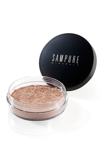 Sampure beige Sampure Instant Glow Mineral Loose Foundation 4.5g (Natural Beige) [SAM104] 844FABE09150D7GS_1
