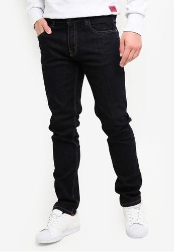 Indicode Jeans 藍色 緊身牛仔褲 73793AA118355DGS_1