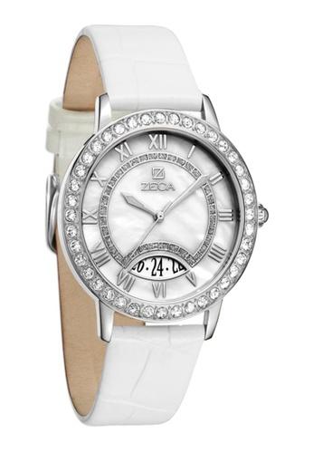 ZECA white and silver Zeca Watches Ladies Fashion - 131L White ZE260AC65SHUSG_1