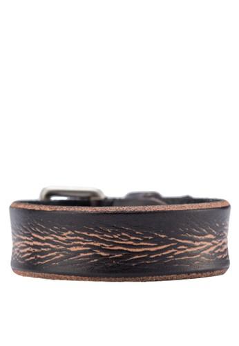 造型仿皮革手環,zalora鞋 飾品配件, 飾品配件
