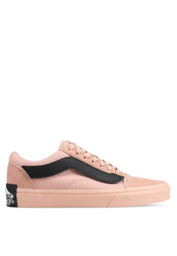 VANS pink Old Skool Year of The Pig Sneakers 00084SH9B63BB7GS_1